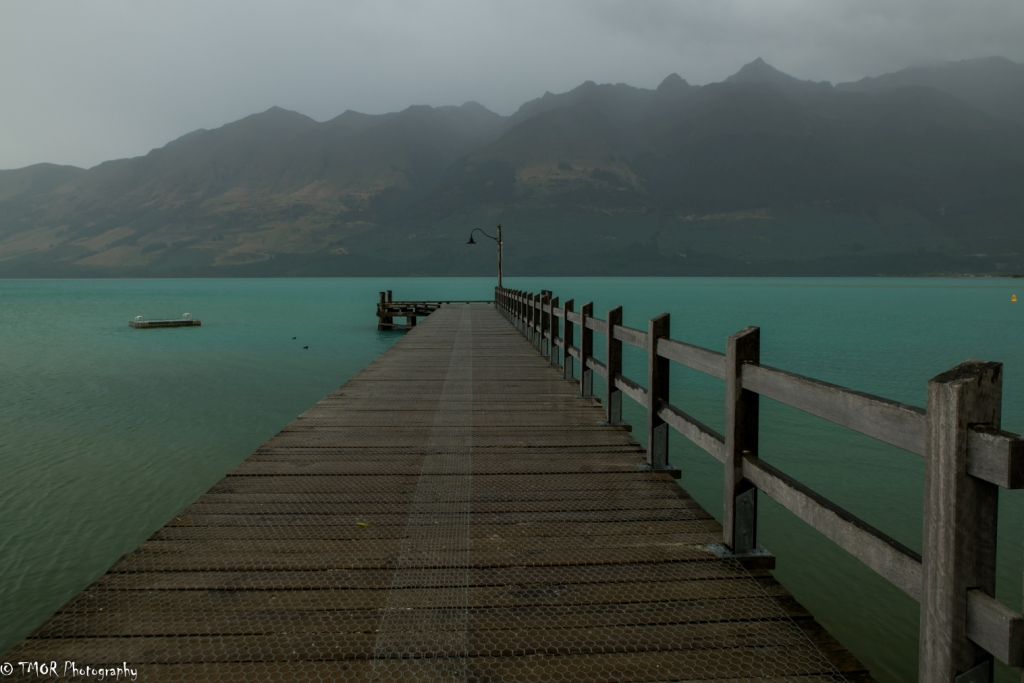 Dock leading to Turquoise Water
